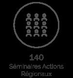 140 Séminaires actions régionaux